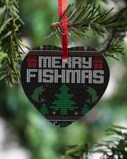 MERRY FISHMAS Heart ornament - single (wood) aos-heart-ornament-single-wood-lifestyles-07