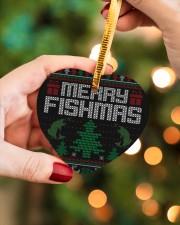 MERRY FISHMAS Heart ornament - single (wood) aos-heart-ornament-single-wood-lifestyles-08