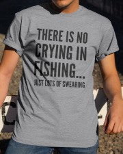 FISHING CRYING Classic T-Shirt apparel-classic-tshirt-lifestyle-28
