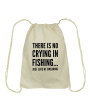FISHING CRYING Drawstring Bag thumbnail
