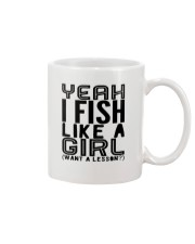 FISHING LIKE  A GIRL LESSON Mug thumbnail