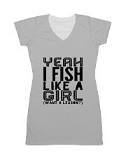 FISHING LIKE  A GIRL LESSON All-over Dress thumbnail