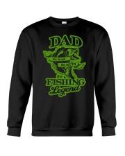 DAD FISHING LEGEND  Crewneck Sweatshirt thumbnail