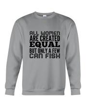 FISHING WOMEN EQUAL Crewneck Sweatshirt thumbnail