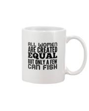 FISHING WOMEN EQUAL Mug thumbnail