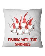 FISHING WOMEN EQUAL Square Pillowcase thumbnail