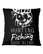 HUNTING AND FISHING Square Pillowcase tile
