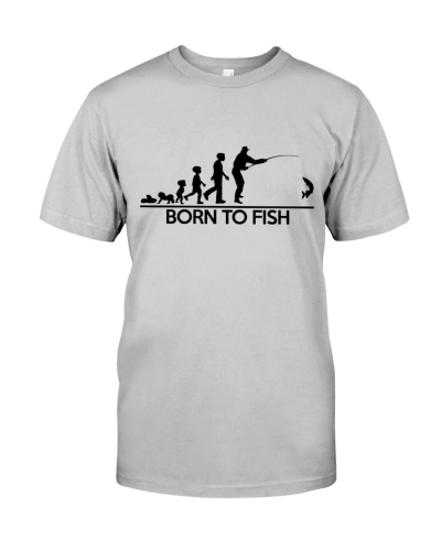 BORN TO FISH HUMAN EVOLUTION