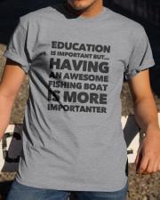 FISHING BOAT Classic T-Shirt apparel-classic-tshirt-lifestyle-28