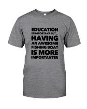 FISHING BOAT Classic T-Shirt front