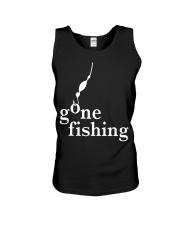 GONE FISHING Unisex Tank thumbnail