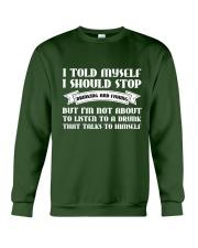 I SHOULD STOP DRINKING AND FISHING Crewneck Sweatshirt thumbnail