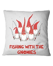 FISHING WIFE BUDDY Square Pillowcase tile