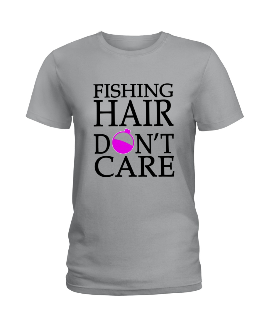 FISHING HAIR Ladies T-Shirt