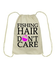 FISHING HAIR Drawstring Bag thumbnail