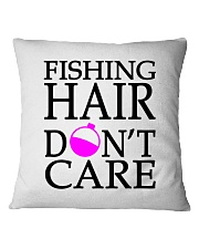 FISHING HAIR Square Pillowcase thumbnail
