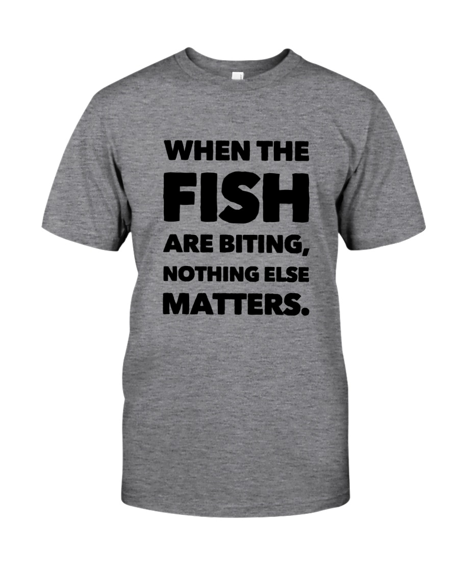 FISH BITING Classic T-Shirt