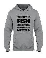 FISH BITING Hooded Sweatshirt thumbnail