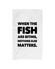 FISH BITING Hand Towel thumbnail
