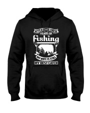 MY WIFE MY BEST CATCH Hooded Sweatshirt thumbnail