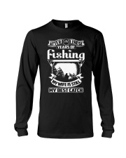 MY WIFE MY BEST CATCH Long Sleeve Tee thumbnail