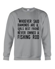 FISHING ROD Crewneck Sweatshirt thumbnail