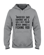 FISHING ROD Hooded Sweatshirt thumbnail