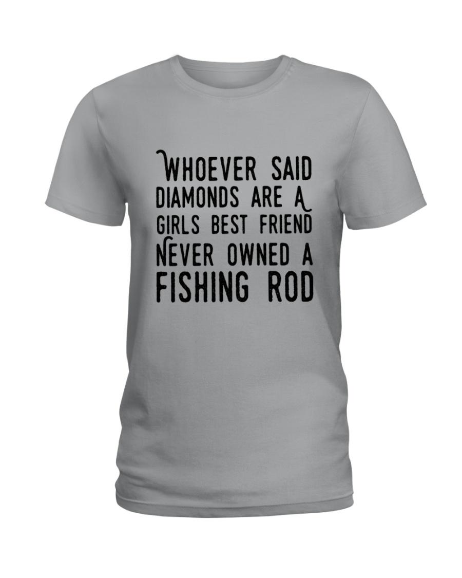 FISHING ROD Ladies T-Shirt
