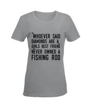 FISHING ROD Ladies T-Shirt women-premium-crewneck-shirt-front