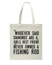 FISHING ROD Tote Bag thumbnail