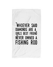 FISHING ROD Hand Towel thumbnail