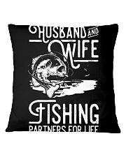 HUSBAND AND WIFE Square Pillowcase thumbnail