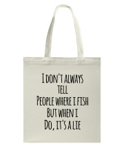 FISH LIE Tote Bag thumbnail