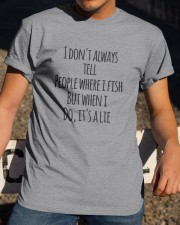 FISH LIE Classic T-Shirt apparel-classic-tshirt-lifestyle-28