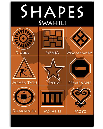 Shapes in Swahili