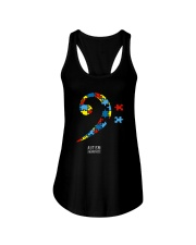 BASS PLAYERS UNITED- AUTISM AWARENESS Ladies Flowy Tank thumbnail