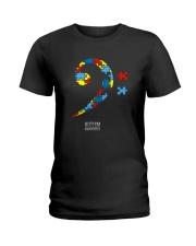 BASS PLAYERS UNITED- AUTISM AWARENESS Ladies T-Shirt thumbnail