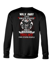Walk away Crewneck Sweatshirt thumbnail