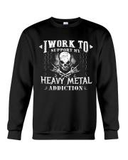 I WORK Crewneck Sweatshirt thumbnail