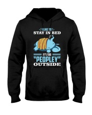 LIKE TO STAY IN BED Hooded Sweatshirt thumbnail