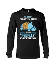 LIKE TO STAY IN BED Long Sleeve Tee thumbnail