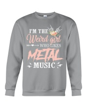 DON'T LET THE EYELINER AND PERFUME FOOL YOU Crewneck Sweatshirt thumbnail