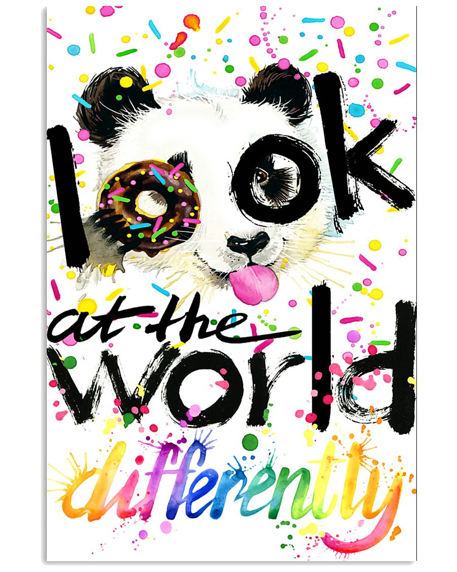 LOOK AT THE WORLD DIFFERENTLY 11x17 Poster