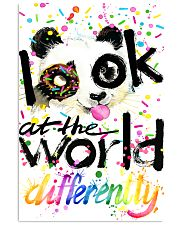 LOOK AT THE WORLD DIFFERENTLY 11x17 Poster front