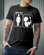 MY WIFE - YOUR WIFE Classic T-Shirt lifestyle-mens-crewneck-front-6