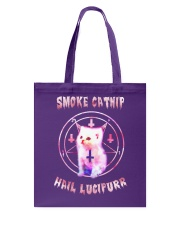 Smoke Catnip Tote Bag tile