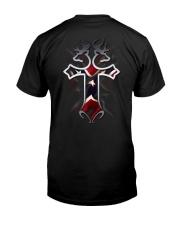 REDNECK CROSS Classic T-Shirt back