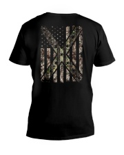 MIXED CAMOUFLAG V-Neck T-Shirt thumbnail