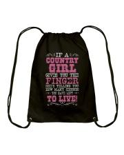 COUNTRY GIRL Drawstring Bag thumbnail