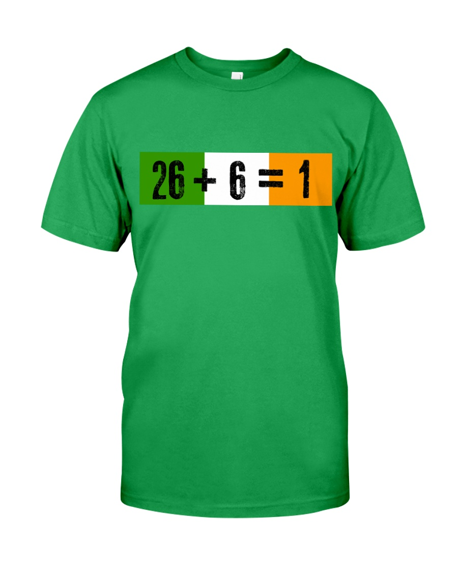 26 and 6 equal 1 Classic T-Shirt